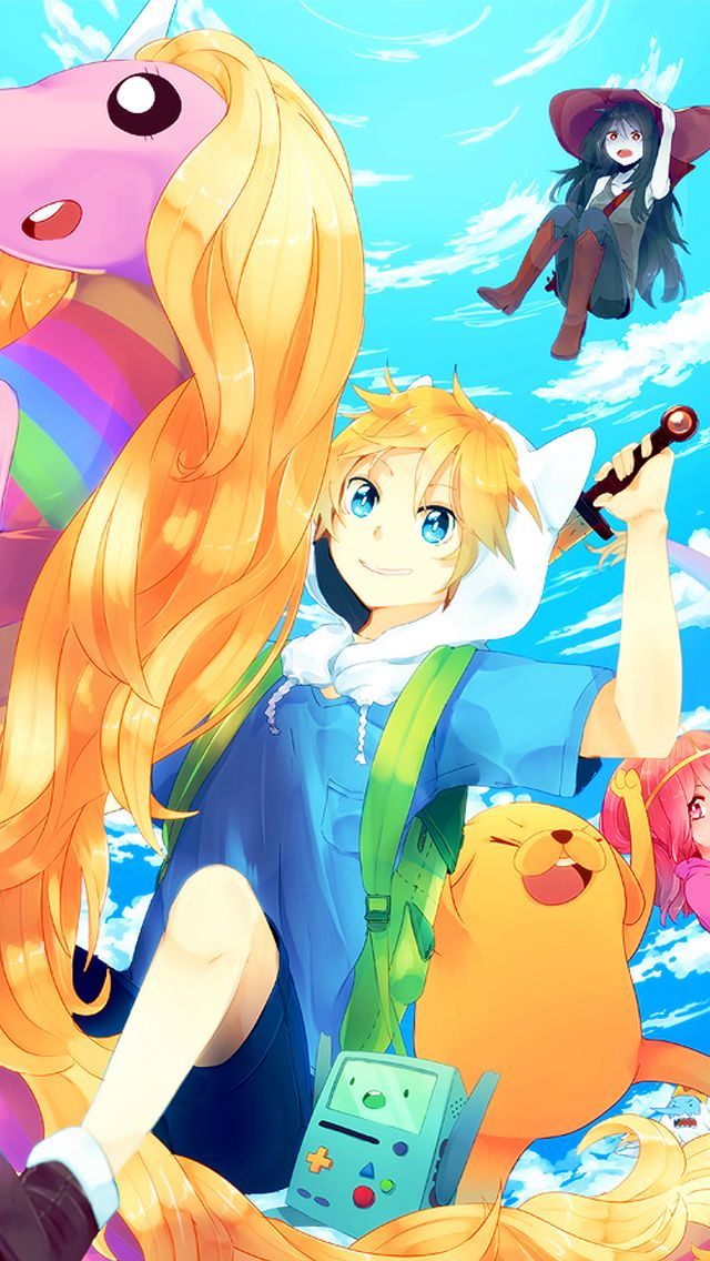 Top 10 Wallpapers De Celular Da Hora Da Aventura Adventure Time Anime Adventure Time Anime