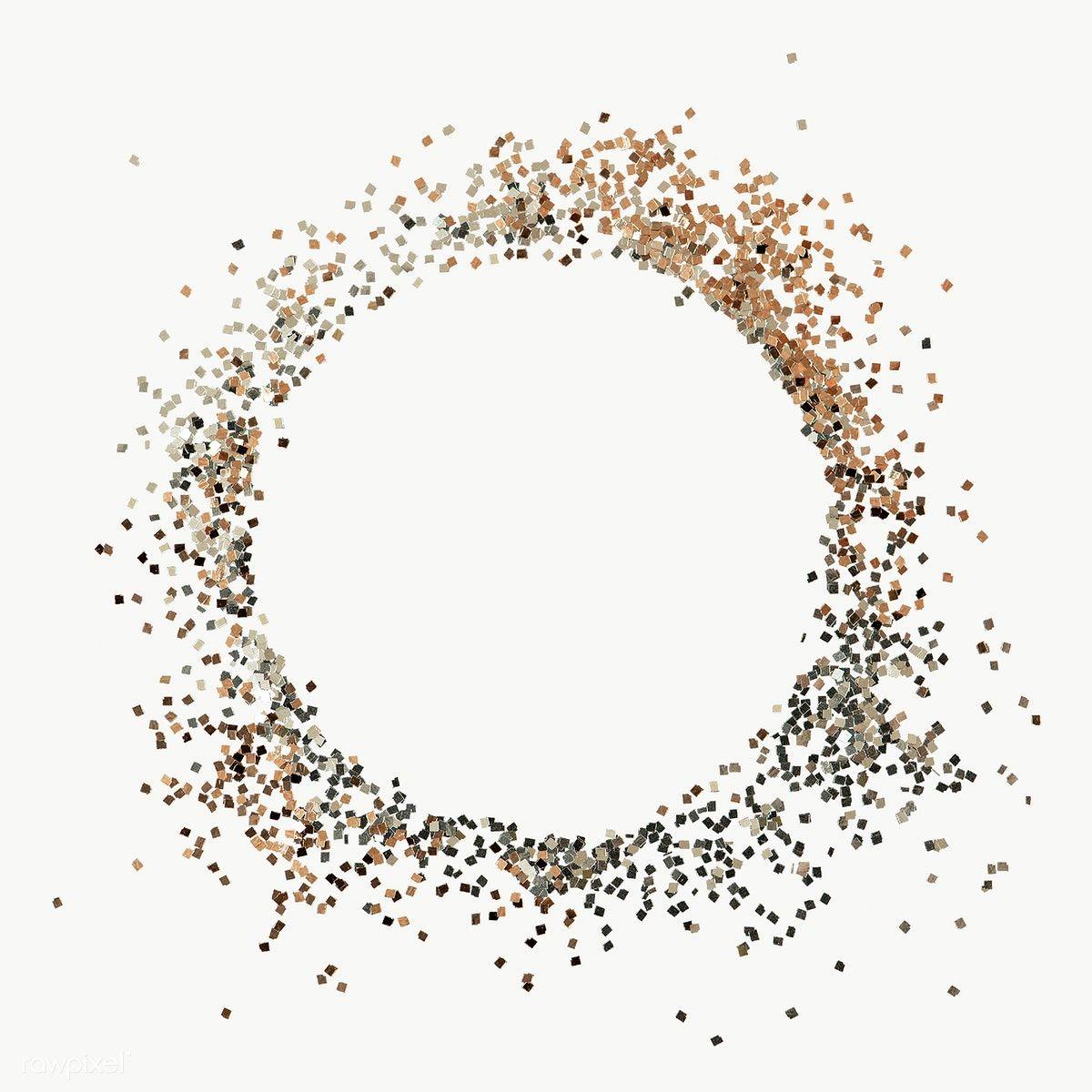 Download Premium Png Of Dusty Bronze Circle Frame Transparent Png 2039318 In 2020 Circle Frames Wedding Photography Album Design Glitter Frame
