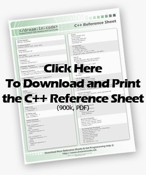 C++ Reference Sheet   Books & Misc   Visual basic tutorials