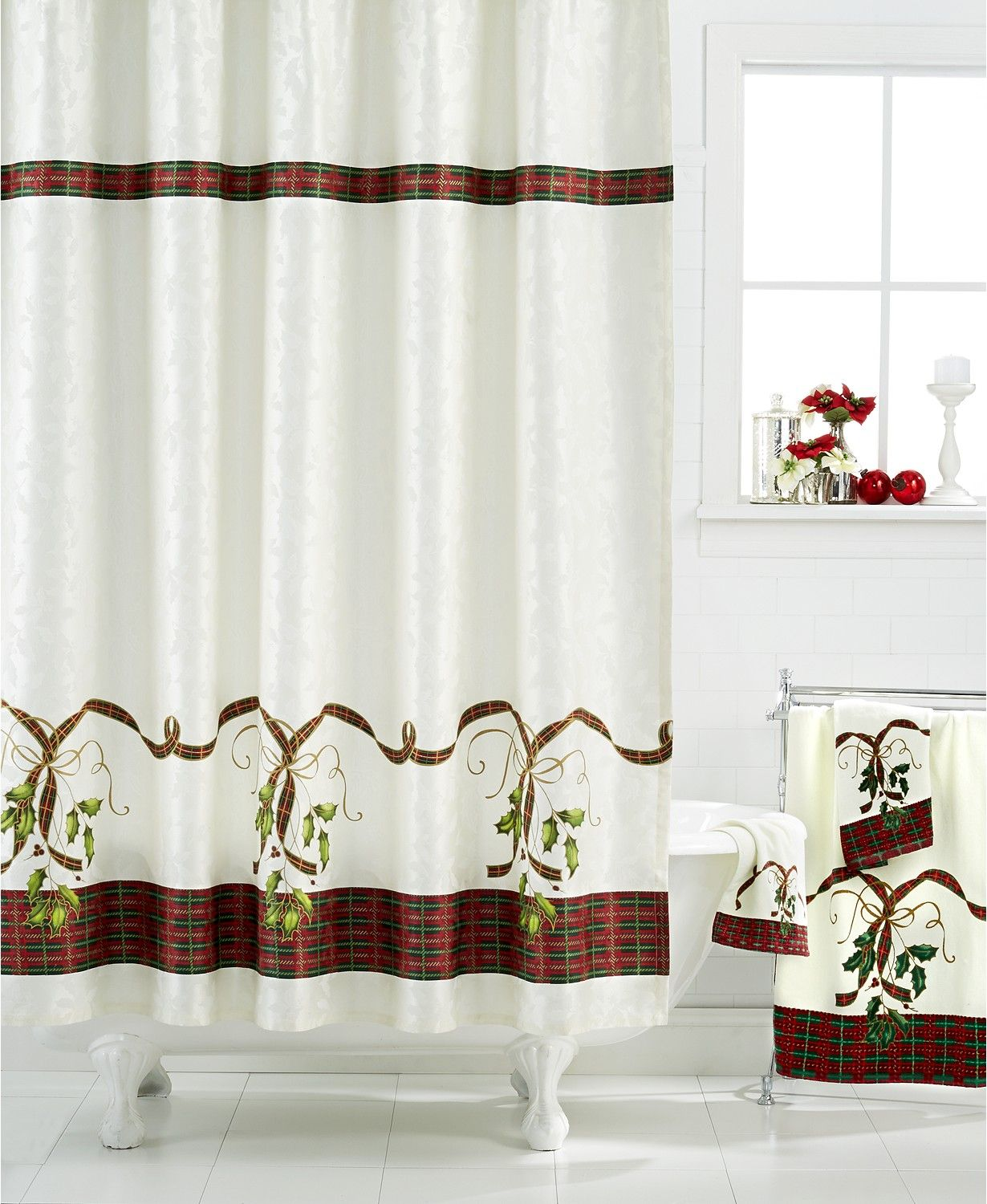 Lenox Holiday Nouveau Bath Collection Bathroom Accessories