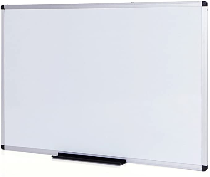 Amazon Com Viz Pro Magnetic Whiteboard Dry Erase Board 48 X 36 Inches Silver Aluminium Frame Office Produc Dry Erase Board Dry Erase Whiteboard Dry Erase
