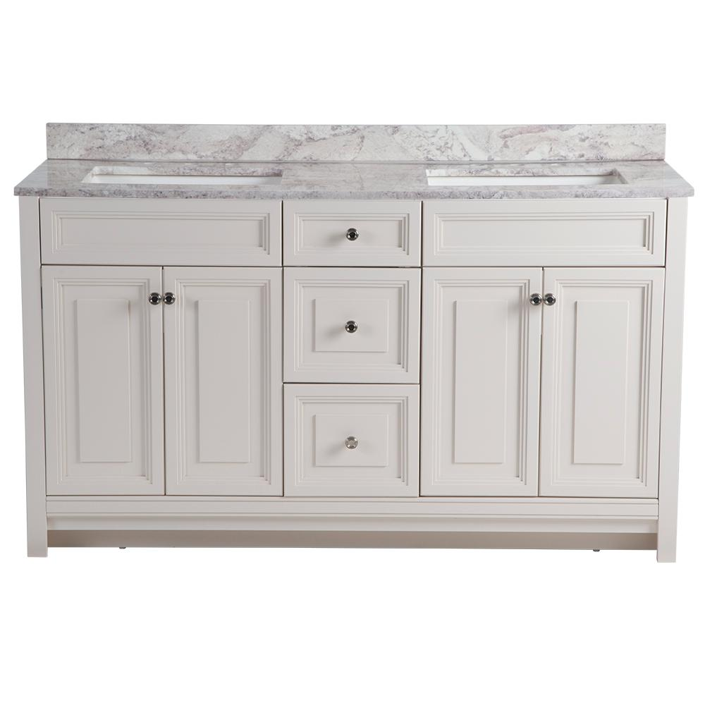 Home Decorators Collection Brinkhill 61 In W X 22 In D Bathroom