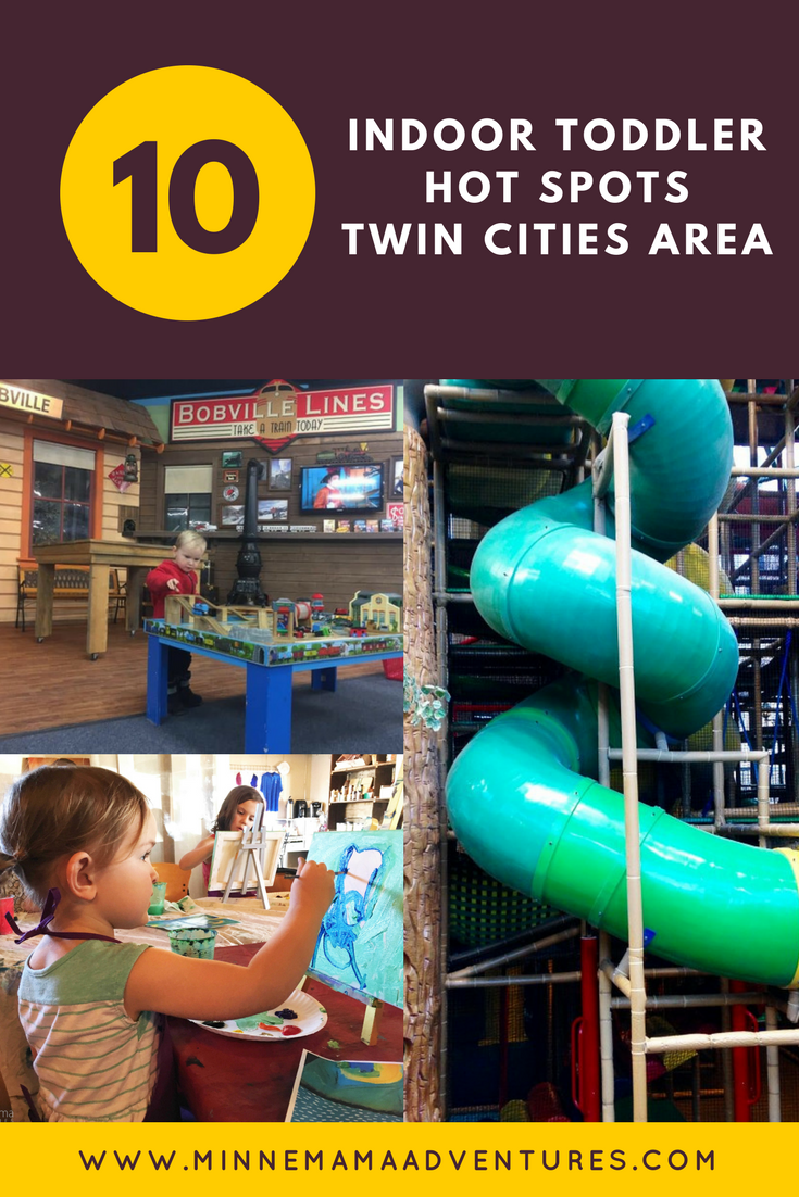 The Top 10 Indoor Hot Spots For Toddlers In The Twin