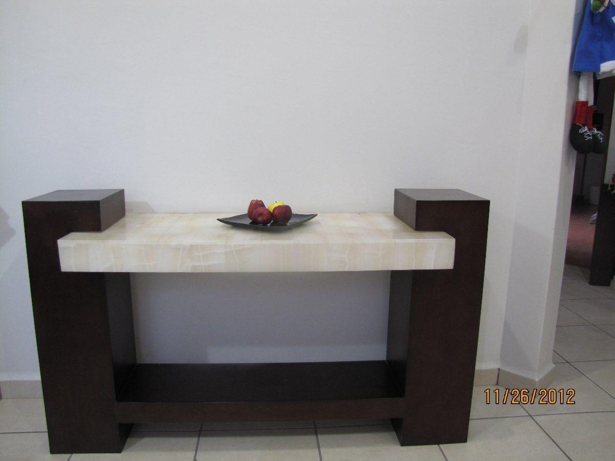 Bufetero De Madera De 1 50 X 30 X 90 Con Cubierta De Onix  # Muebles Bufeteros Modernos