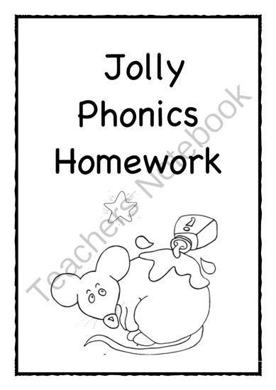 Jolly Phonics homework from Little Learners- little hands
