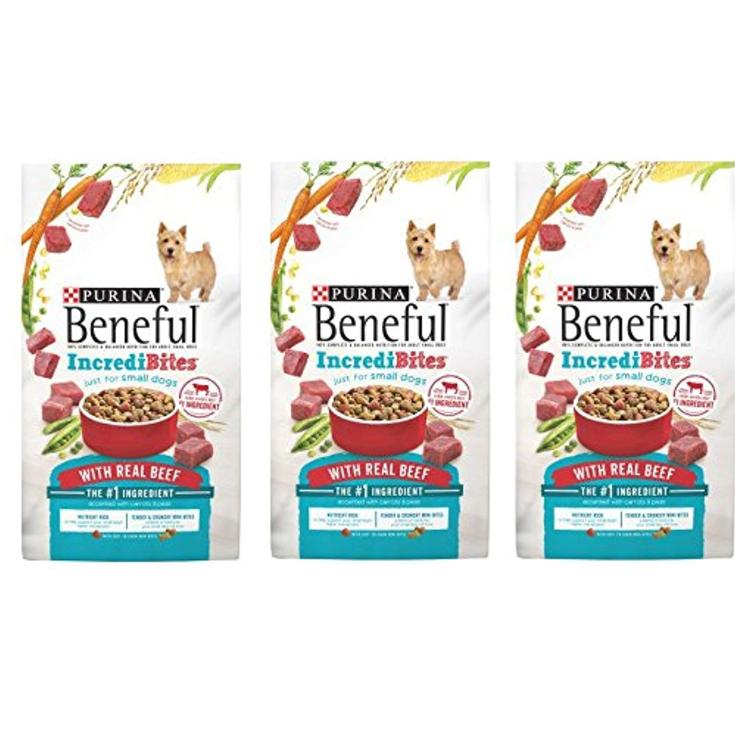 Purina Beneful Incredibites With Real Beef Adult Dry Dog Food