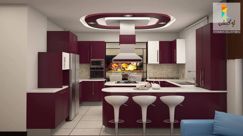 احدث الأفكار و التصميمات للمطابخ الامريكاني 2017 اهم ما يميز المطبخ الأمريكي و التقليدي لوكشين ديزين Modern House Design Interior Work Beautiful Kitchens