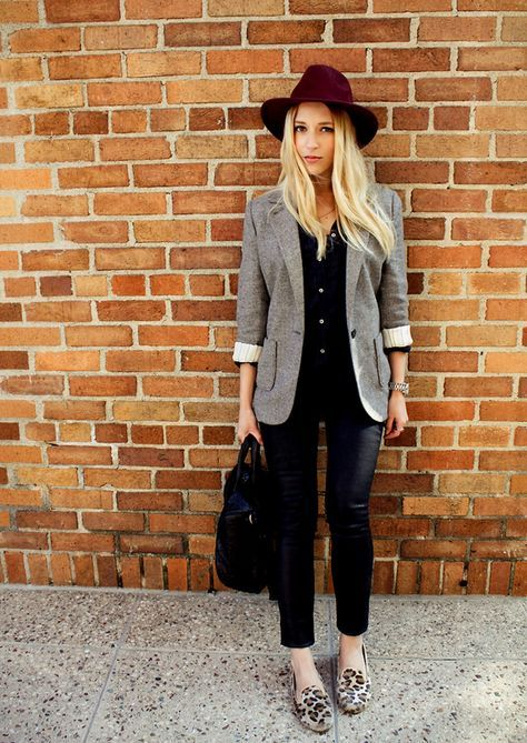 Stylish, comfortable, and generally work-appropriate. // Lulu's Closet: Slippers Trend