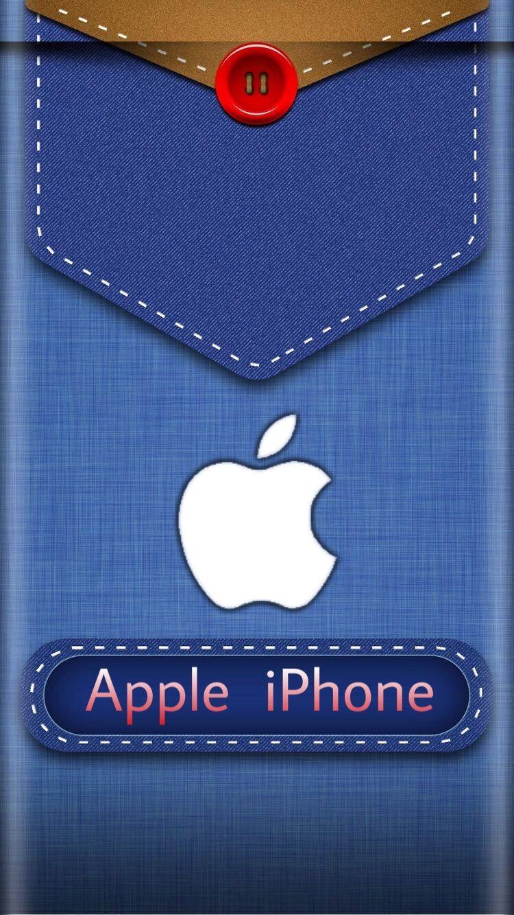 Denim Apple Iphone Wallpaper Apple Wallpaper Iphone Apple Logo Wallpaper Iphone Apple Wallpaper