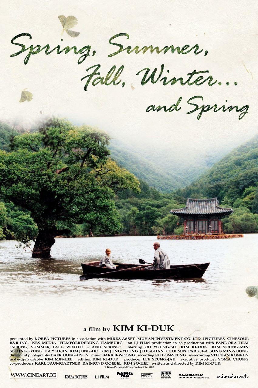 Printemps, été, automne, hiver… et printemps (봄 여름 가을 겨울 그리고 봄 ; Bom yeoreum gaeul gyeoul geurigo bom ; Spring, Summer, Fall, Winter... and Spring) / Kim Ki-duk - 2003