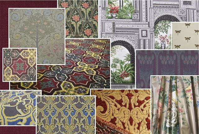 Historic Period Interior Design And Home Decor: New Rare Interior Decorating  Fabrics   Get 1st Dibs And $ave