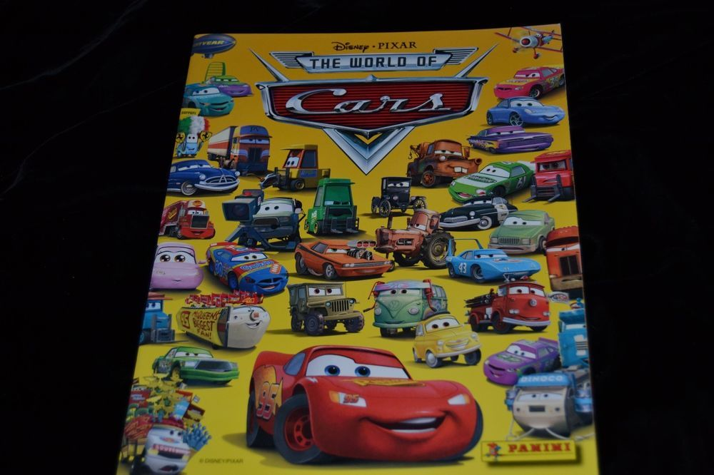 2 x cars disney pixar panini sticker packs