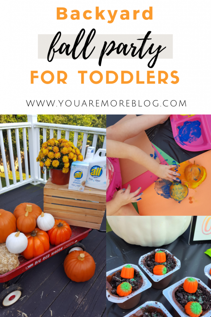 Backyard Fall Party for Toddlers - You Are More Blog