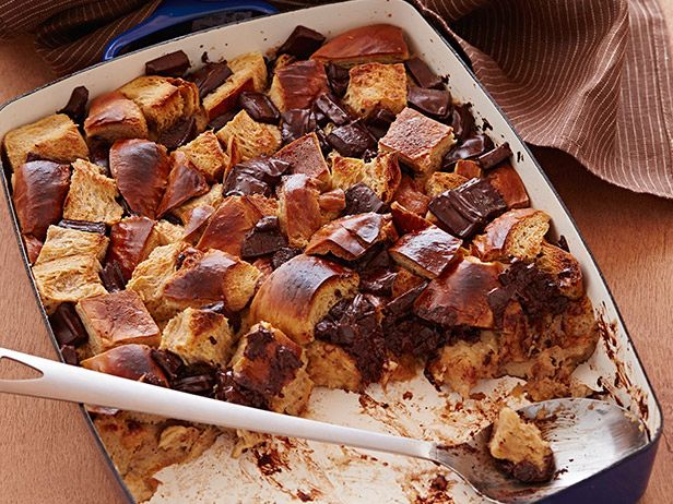 Chocolate bread pudding receta postres forumfinder Image collections