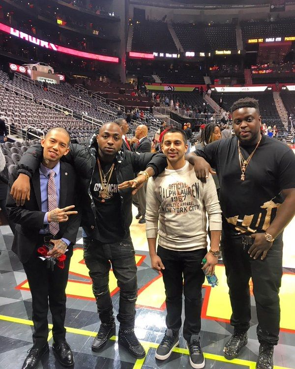 Welcome To Nelly Jackson's Blog: Davido shares group photo in Atlanta