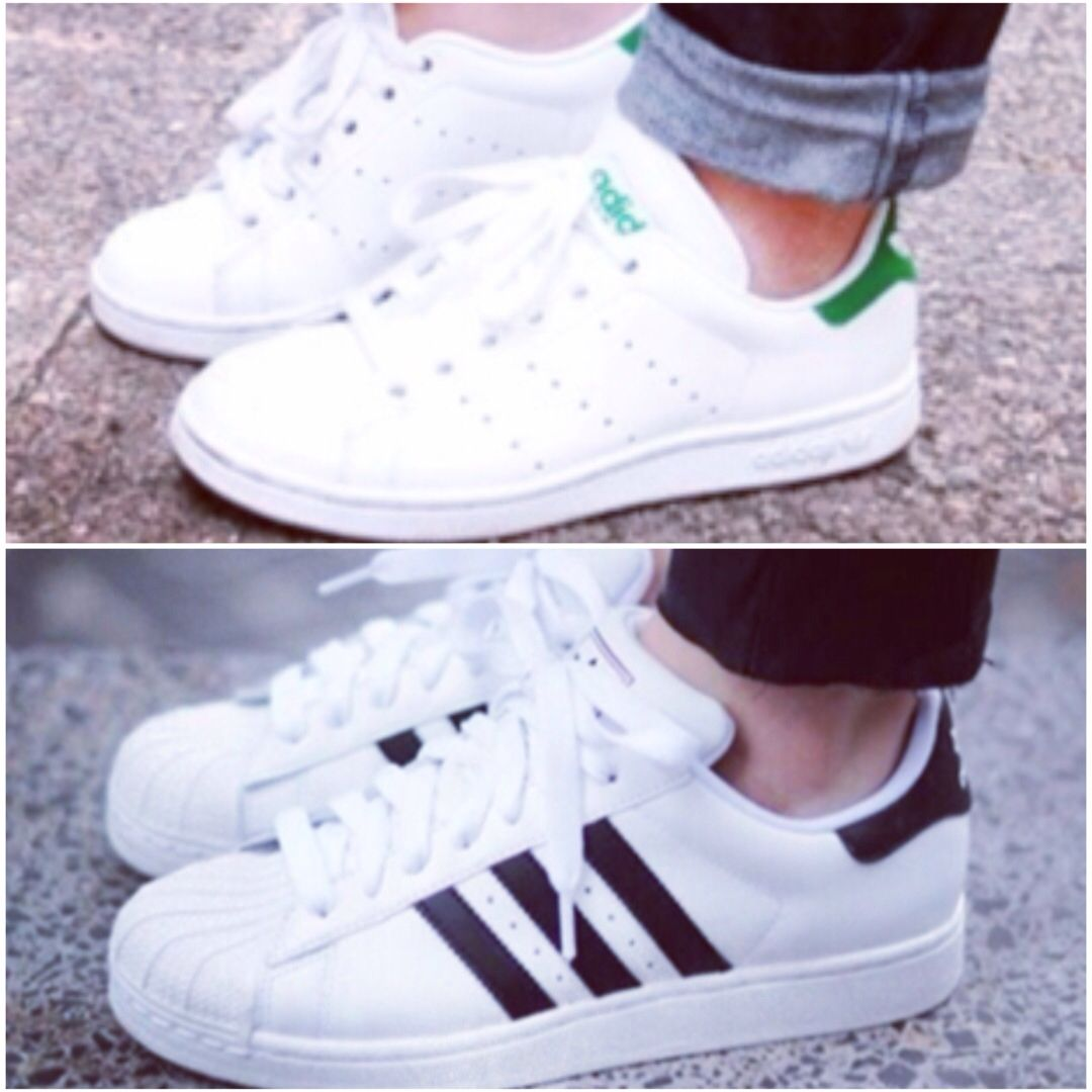 Superstar or stan smith ? | Adidas originals.