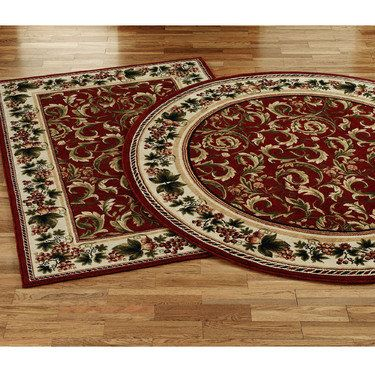 Inspiration Grapes And Acanthus Area Rugs Area Rugs Rugs