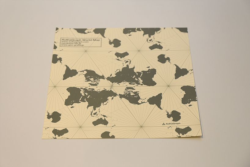 Authagraph Good Design Grand Award Japan World Map Projection - Japan map projection