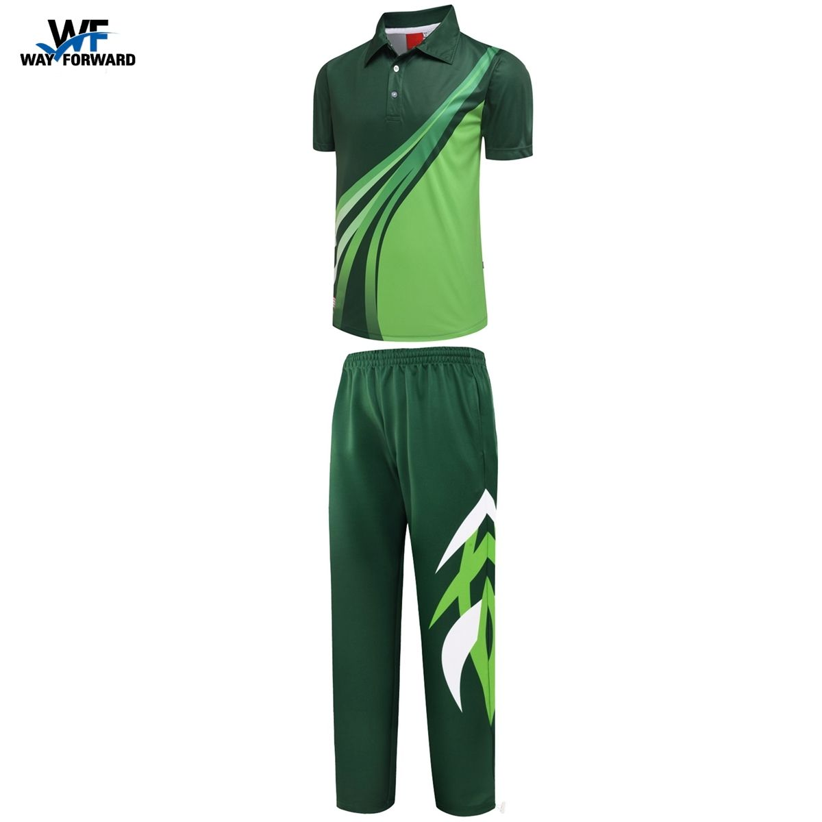 Uniform Cricket Jersey And Trouser Customize Shirts Sublimation Men And Women Design Team Wear Tracksuit Custom Shirts