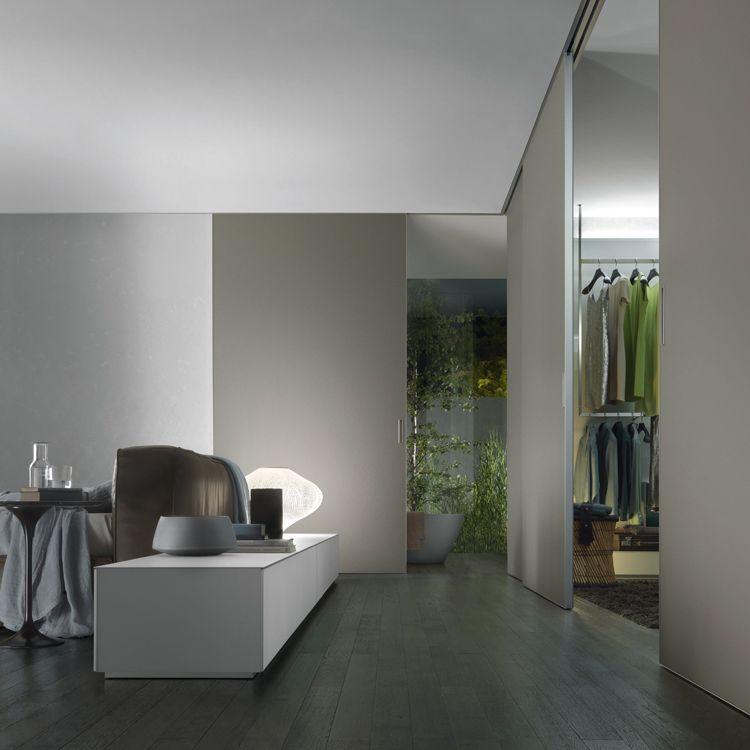 Rimadesio - Graphis light porte scorrevoli | Camera da letto ...