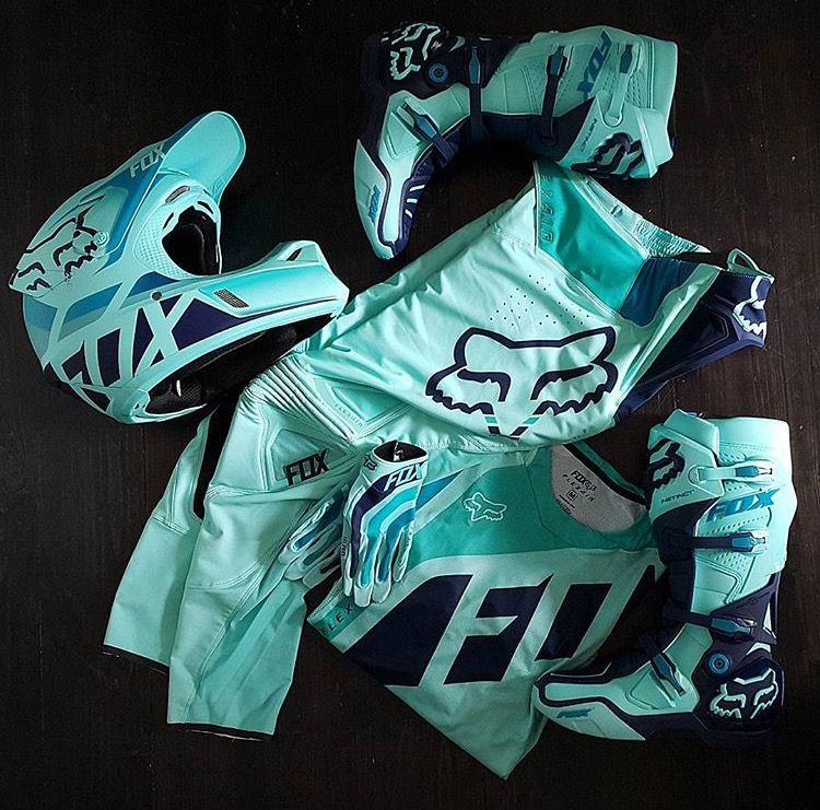 f547dfa559c Love this colour!!! | Fox racing <3 | Dirt bike gear, Motocross ...