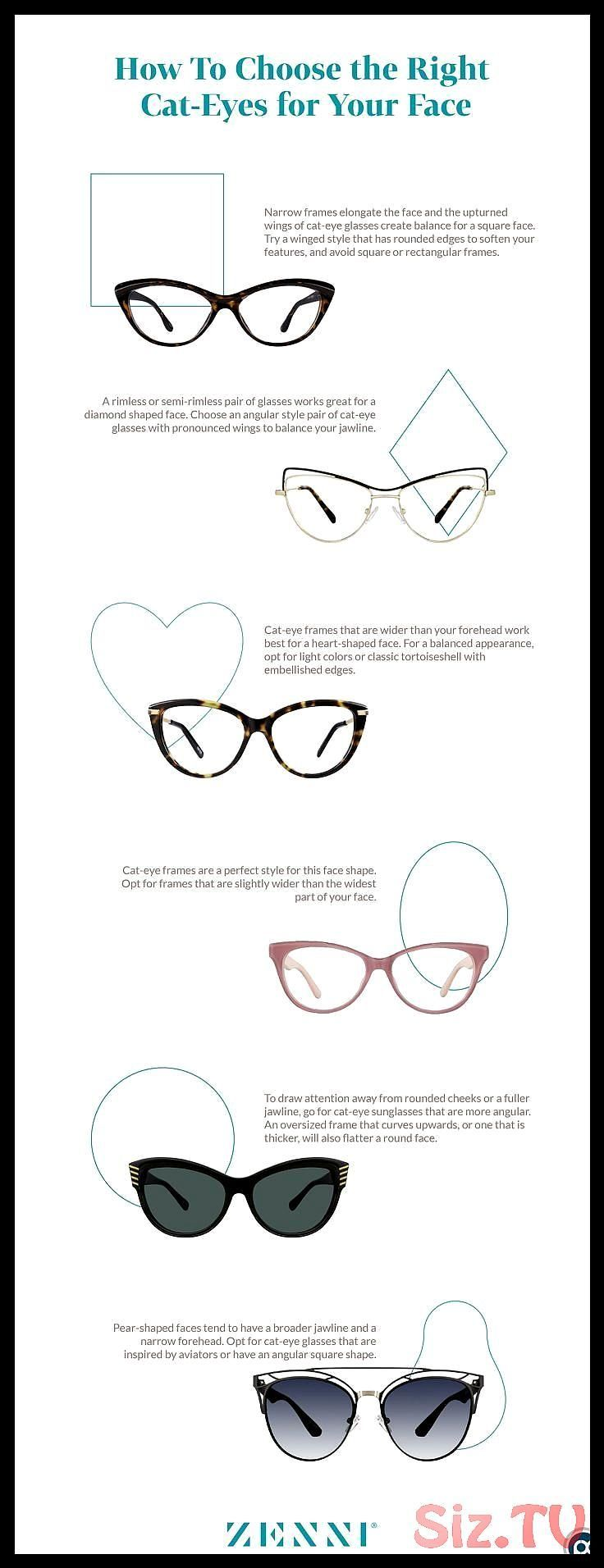 How To Choose The Right Cat Eye Glasses For Your Face Shape Glasses For Round F Glasses For Face Shape Glasses For Round Faces Glasses For Oval Faces