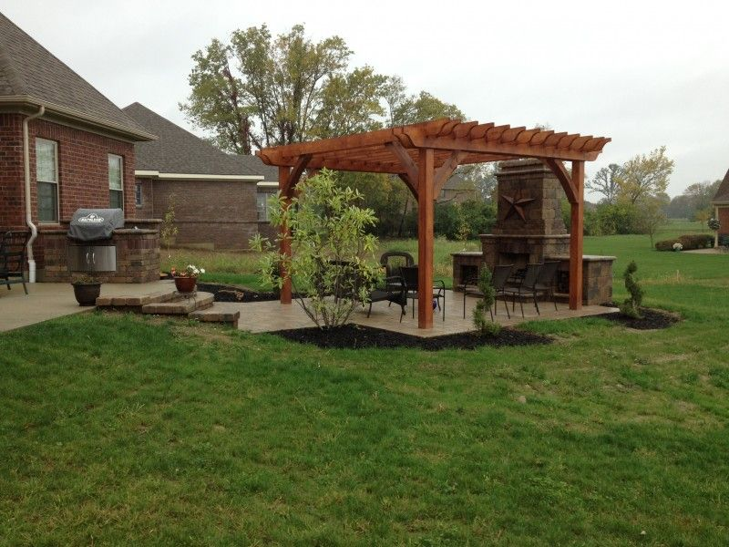patios with fireplaces. Patio fireplaces  Davenport Paver Pergola and Outdoor Fireplace in Centerville 28 best images on Pinterest Decks Bar grill