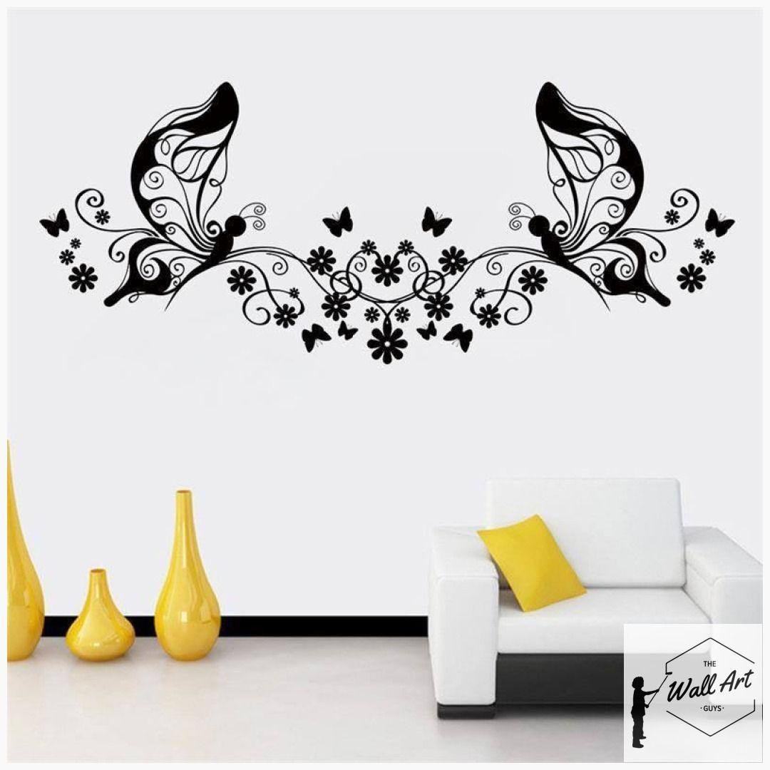 Feminine Butterfly Wall Sticker Butterfly Wall Decor Butterfly
