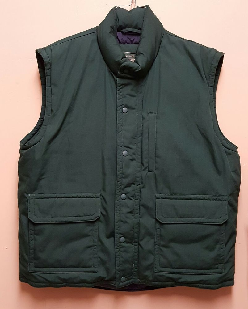 ed57a99211a371 Orvis Mens XL Green Goose Down Puffer Vest Lined Full Zip Outdoors Fishing  Sport  Orvis  Puffer