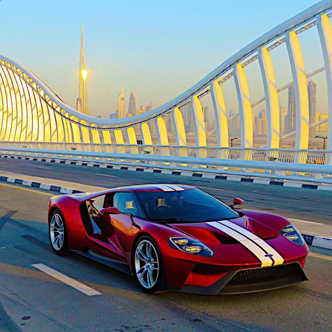 The New Ford Gt Spotted In Dubai