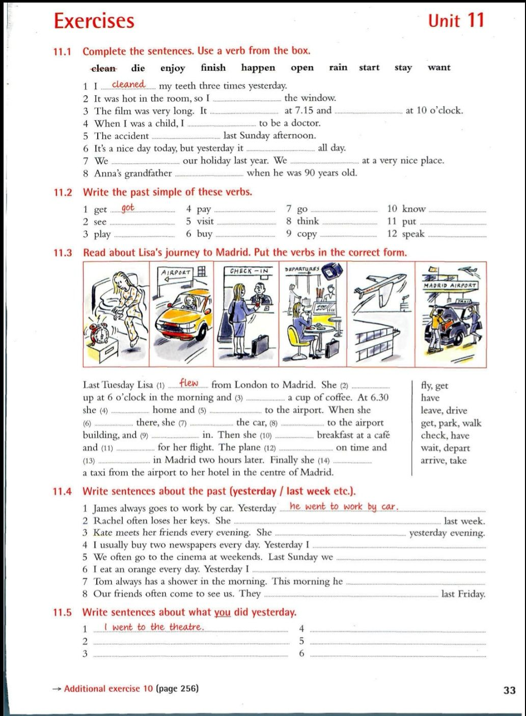 Unit 11 English Writing Skills English Writing English Grammar Book