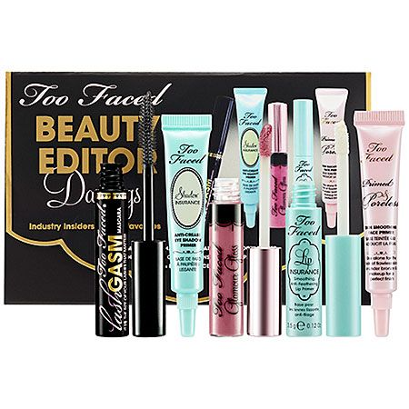 Gifts Under 25 Too Faced Beauty Editor Darlings Set 19