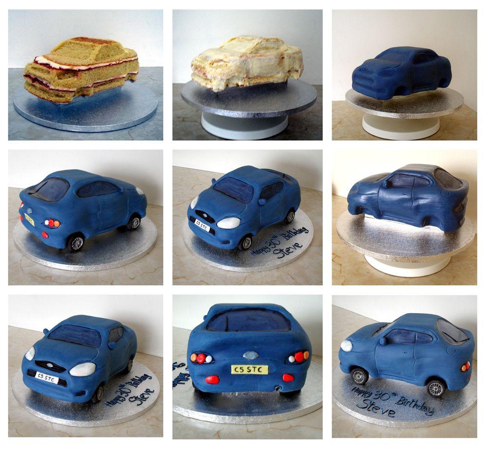 Sprinkles Crumbs Ford Puma Car Cake cake desings Pinterest