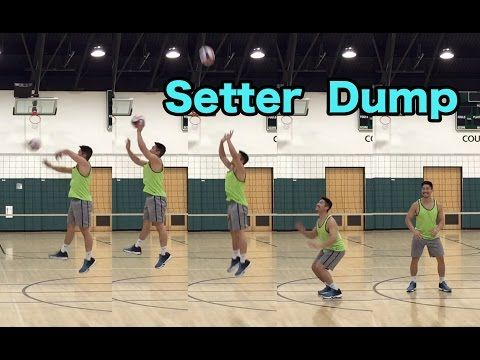 Setter Dump Volleyball Tutorial Volleyball Training Volleyball Workouts Volleyball Setter