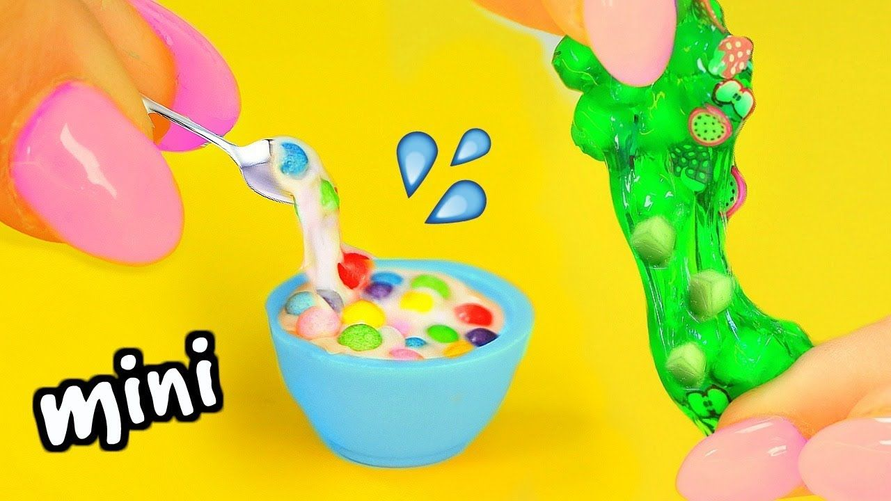 Diy mini slimes how to make miniature jelly cube slime cereal diy mini slimes how to make miniature jelly cube slime cereal slime cloud ccuart Image collections