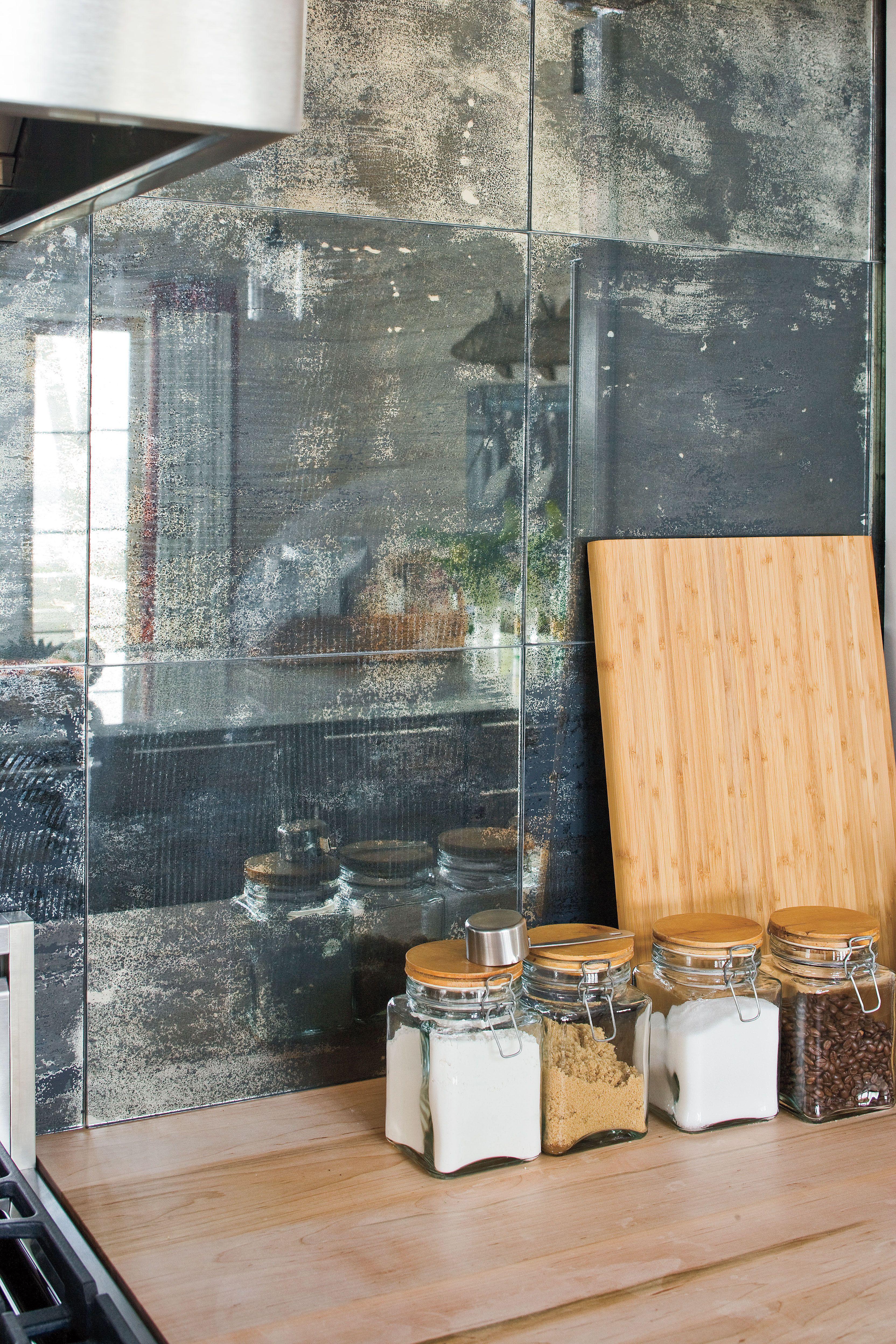 2009 Southern Living Texas Idea House Kitchen Backsplash | Mirror ...