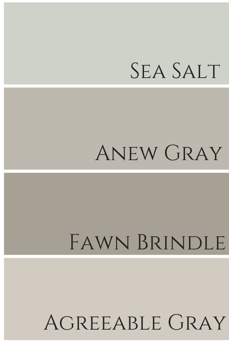 Agreeable Gray by Sherwin Williams Colour Review – Claire Jefford #livingroompaintcolorideas