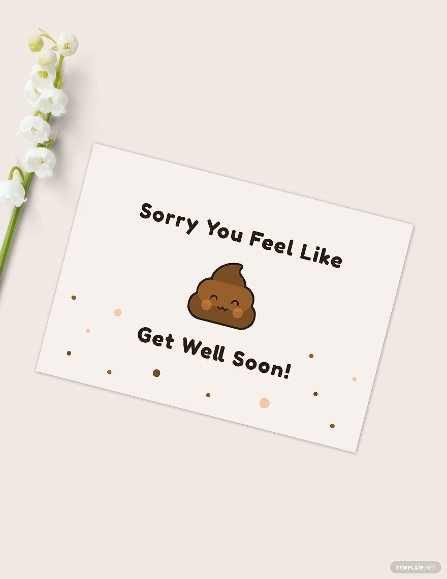 Funny Get Well Soon Card Template Ad Ad Funny Card Template Card Template Get Well Get Well Soon