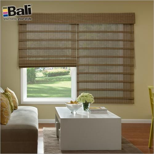 Bali Economy Woven Wood Shades In Curaco Loden These Shades Also