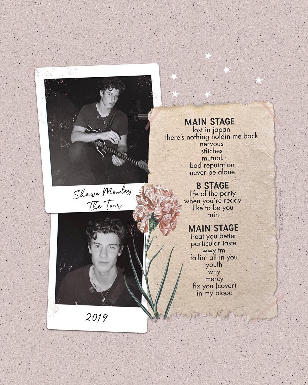 Shawn Mendes Updates On Instagram Shawn Mendes The Tour Setlist Shawnmendesthetouramsterdam Ikwydls Isn T Includ Shawn Mendes Shawn Mendes Merch Shawn