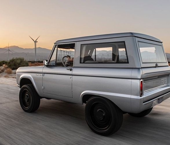 Zero Labs Electric Ford Bronco Ford Bronco Ford Suv Classic