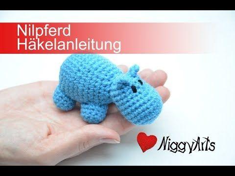 Niggyarts Nilpferd Häkelanleitung Youtube Babyhandarbeiten