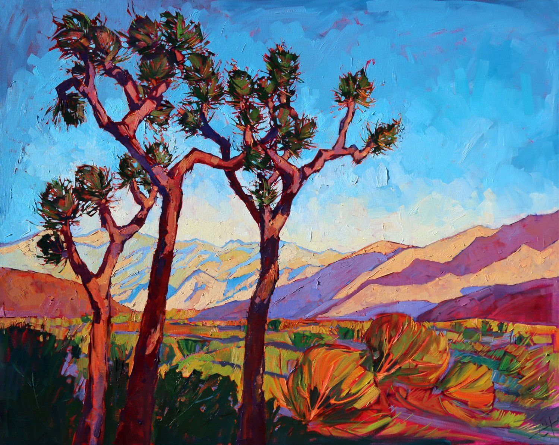 Erin Hanson Paintings Joshua Tree