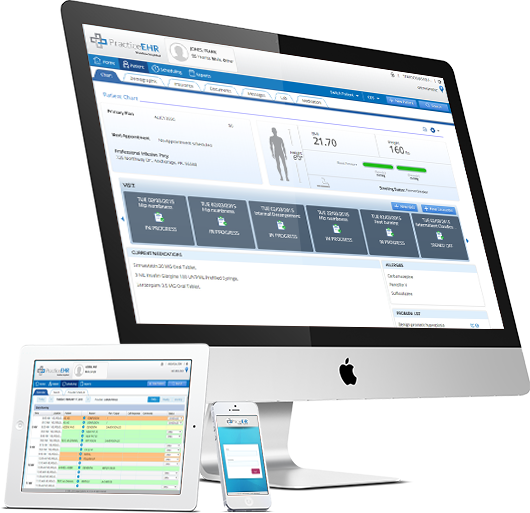 Medical records on ipad app Electronic health records