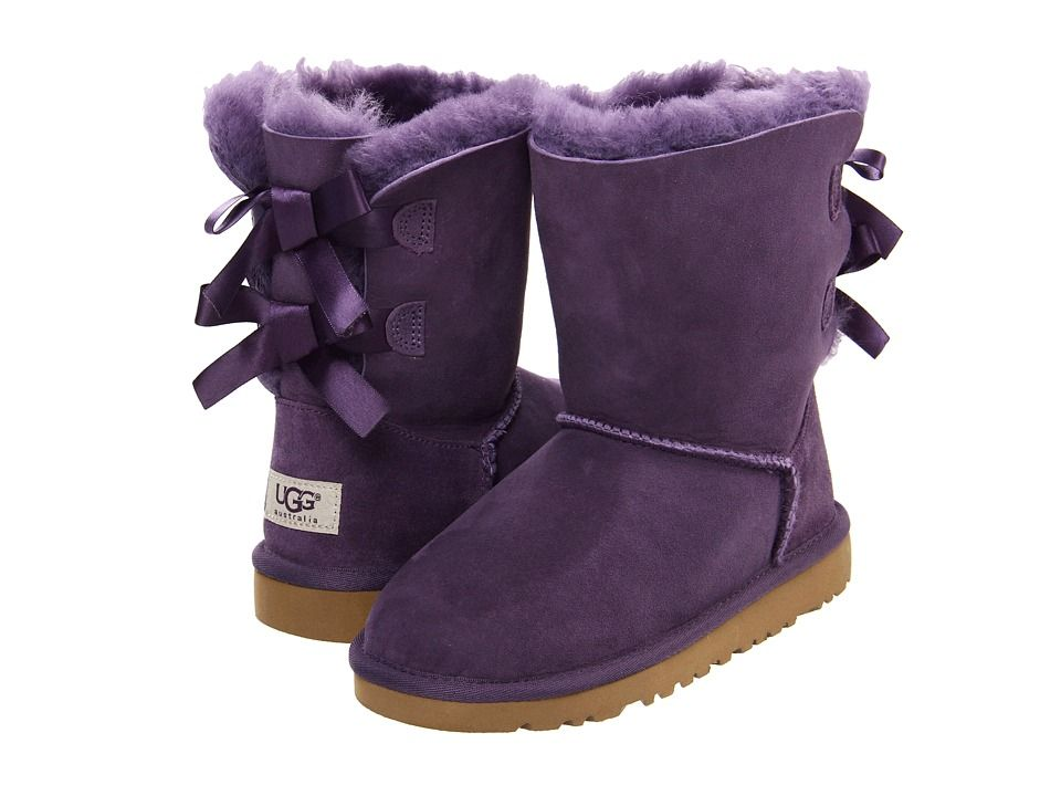 54225fb4273 pictures os uggs for pintrest | PURPLE UGGS WITH BOWS IN THE BACK on ...