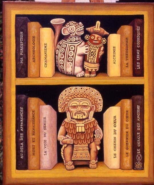 Bibliotheque Chaman (Hector Toro)