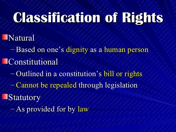 The Philippine Bill of Rights Civil Rights Bill of