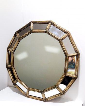 Espejo Vintage Tipo Dodecaedro Espejos Vintage Espejos Decoración Vintage