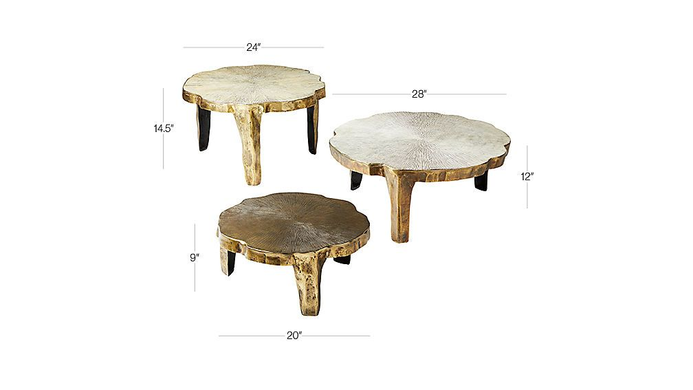 Lilly 3 Piece Nesting Table Set Nesting Tables Table Settings
