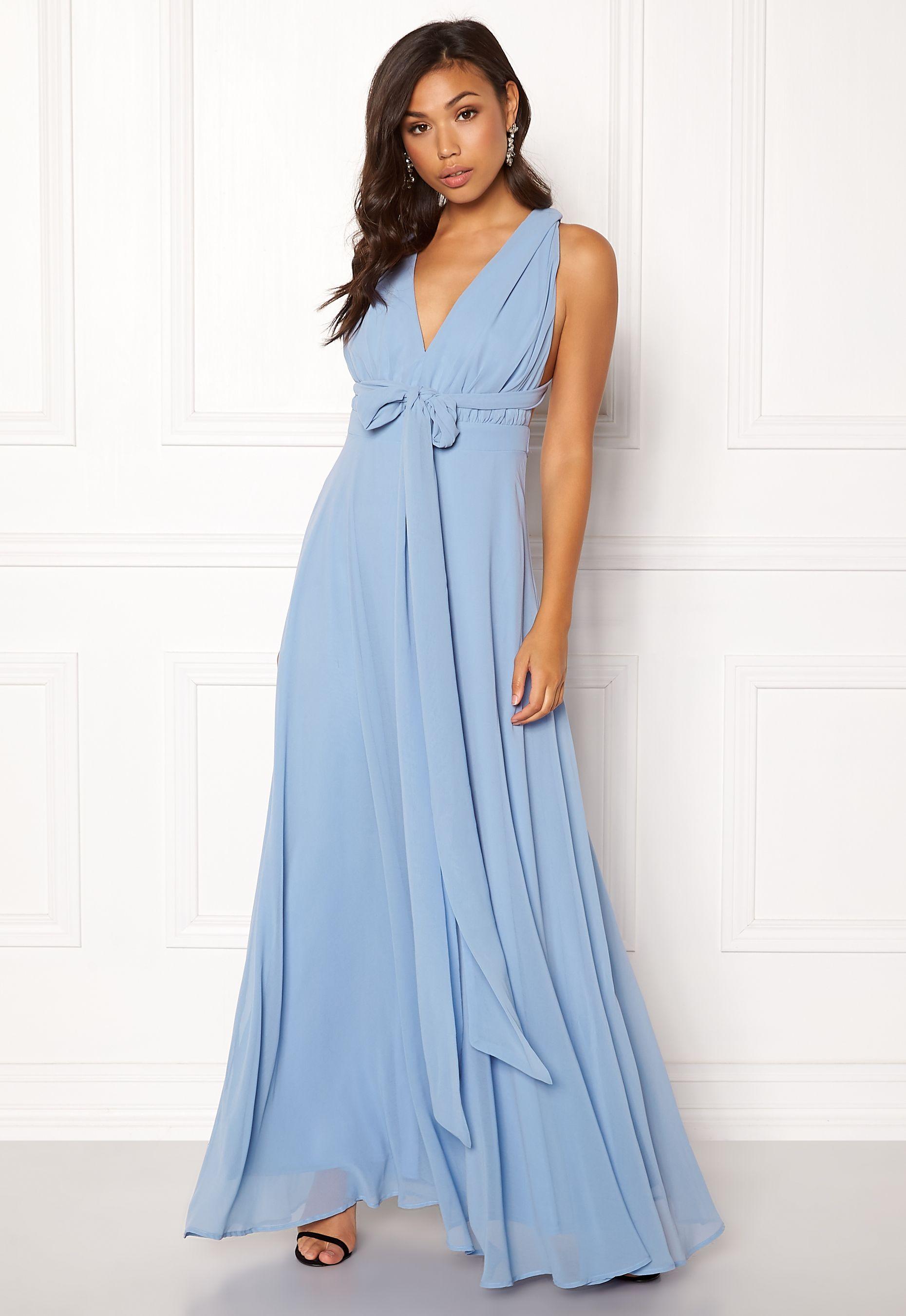 665f32fd Goddiva Multi Tie Chiffon Dress | Brudepiker3 | Chiffon Dress ...
